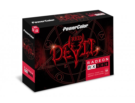 PowerColor Red Devil Radeon™ RX 580 8GB GDDR5