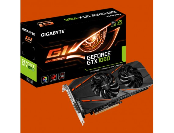 Gigabyte GTX1060 Gaming 6GB Windforce 2 Fan