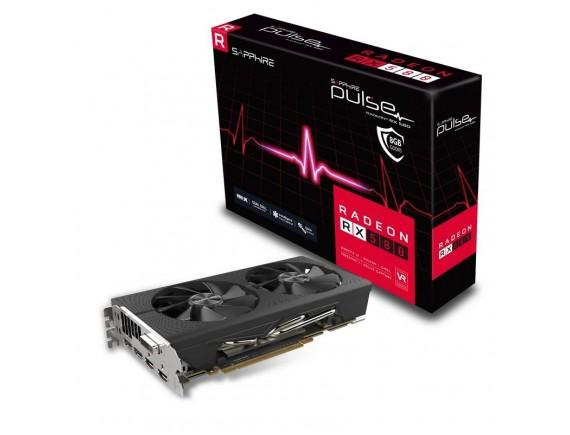 Sapphire Pulse Radeon RX580 8 GB DDR5