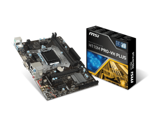 MSI Motherboard H110M-Pro VH Plus