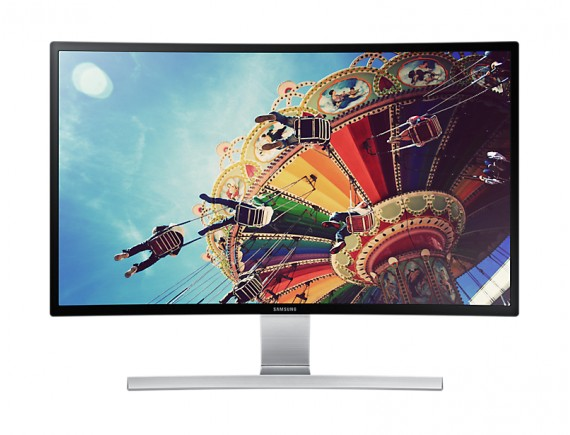 Samsung 27 Inch Curved Monitor With Incredible Picture Quality