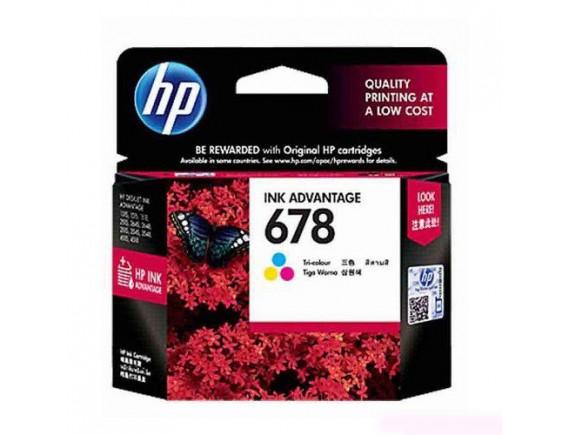 HP Cartridge 678 - Warna