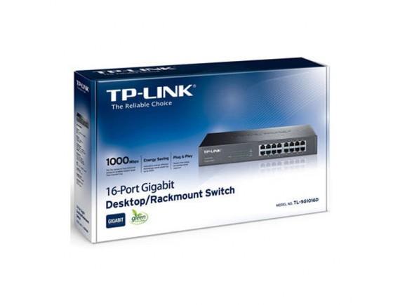 TPLink Switch Hub 16 Port Gigabit