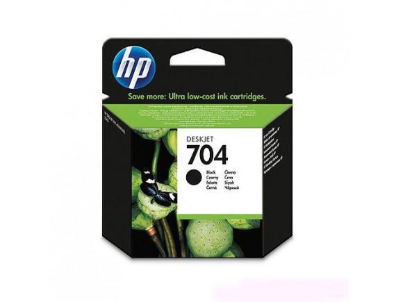 HP Cartridge 704 - Hitam
