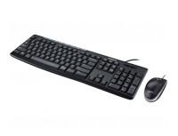 Logitech Mouse dan Keyboard MK200