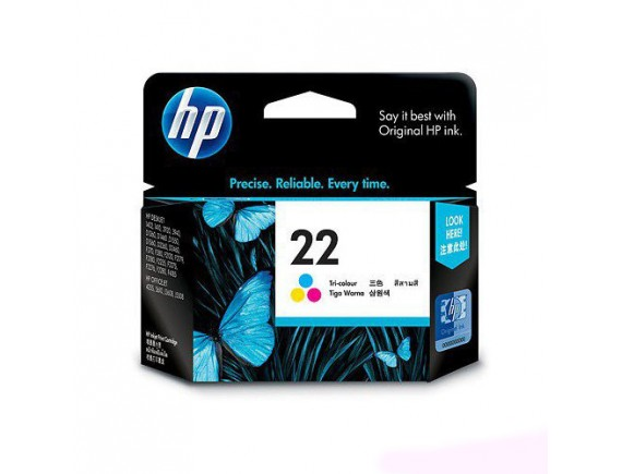 HP Cartridge 22 - 3 Warna