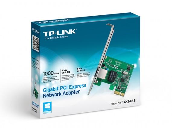 TPLink LAN Card TF-3468 PCI-E Slot Gigabit
