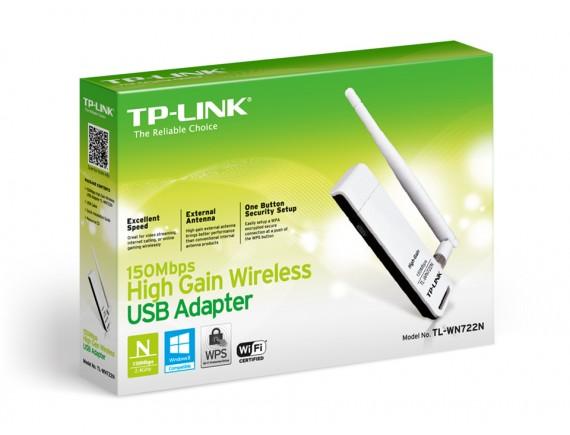 TPLink USB WiFi WN-722N