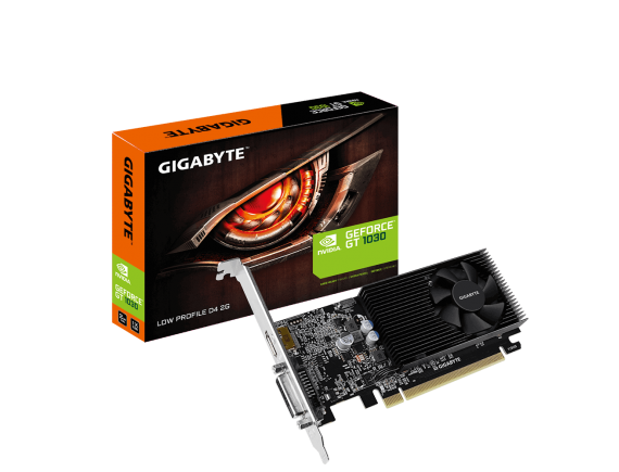 Gigabyte GT 1030 Low Profile D4 2G