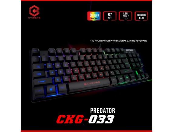 Cyborg Keyboard CKG-033 Predator TKL