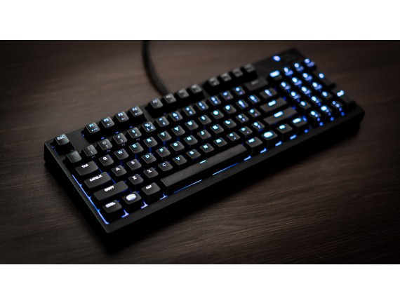 Cooler Master MasterKeys Pro M White LED Mechanical Gaming Keyboard