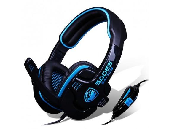 Sades headset gaming SA-708 G- POWER