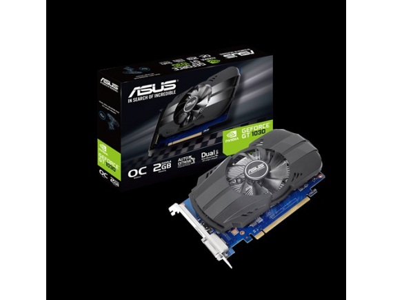 Asus VGA Card Phoenix GeForce GT1030 OC edition 2GB DDR4