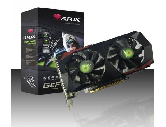 AFOX GeForce GTX 1050 Ti 4GB DDR5 Dual Fan