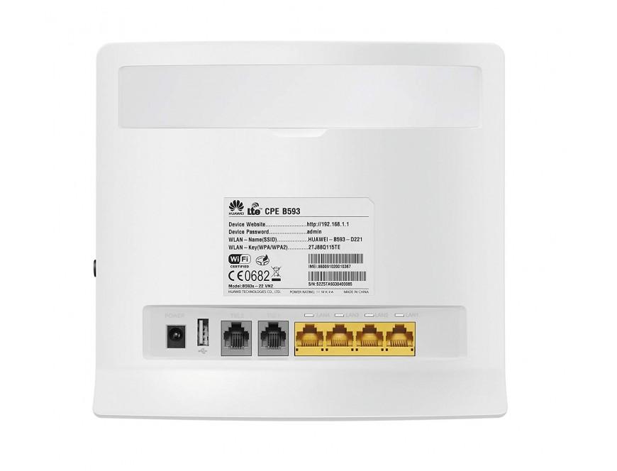 HUAWEI B593 4G LTE CPE Modem Mifi Wireless Router UNLOCK ALL GSM
