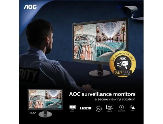 AOC Surveillance Monitor (24/7) CCTV