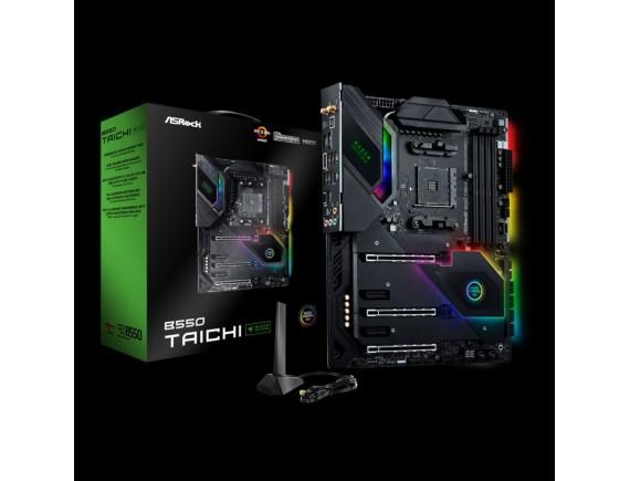 ASROCK Motherboard B550 TAICHI Razer Edition AMD AM4 ATX DDR4