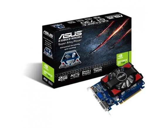 Asus VGA GT730 GPU 2GB DDR3 128Bit