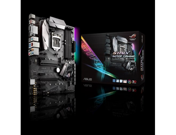 Asus Motherboard  ROG STRIX B250F Gaming D4 LGA 1151