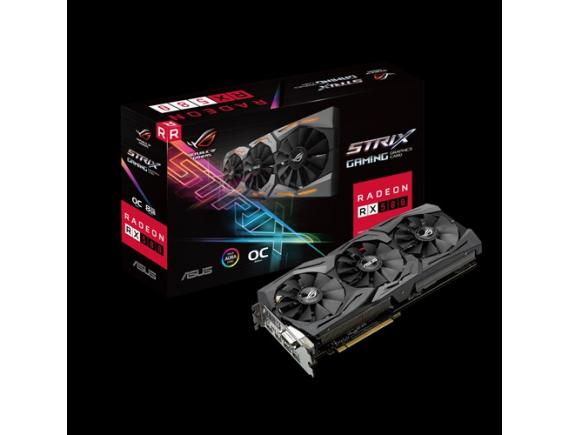Asus VGA Card RX580 8GB STRIX Gaming
