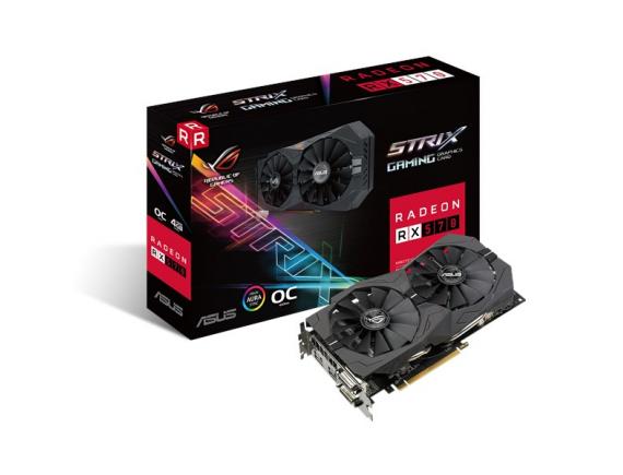 Asus VGA Card RX570 Strix OC 4GB DDR5 256bit
