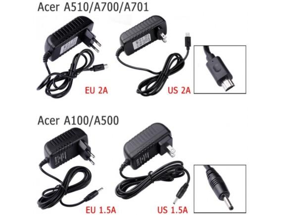 Adaptor Acer 12v Tab A500 A100 A510 A700 A701