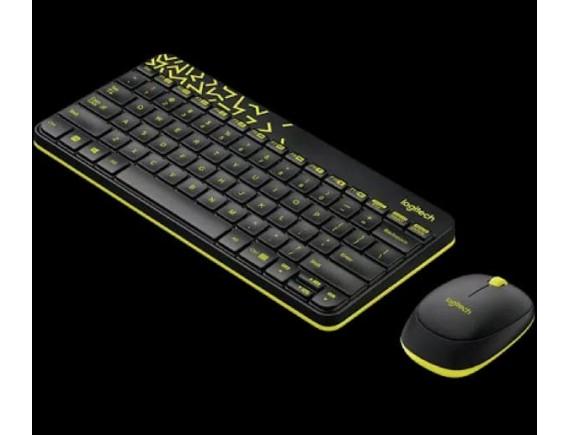 Logitech MK240 Hitam Keyboard + Mouse Combo