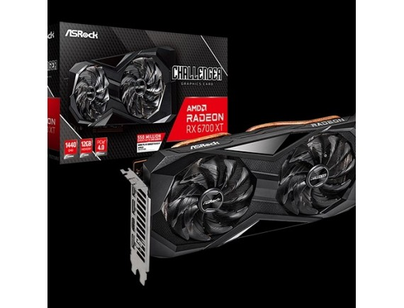 ASRock Radeon RX 6700 XT Challenger D OC 12GB GDDR6