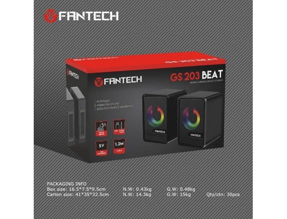 Fantech GS-203 GS203 - RGB Speaker Gaming