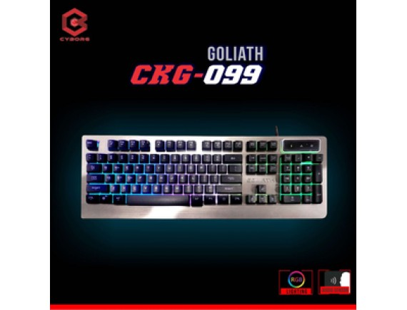 Cyborg Keyboard CKG-099 Gaming Multimedia RGB Goliath