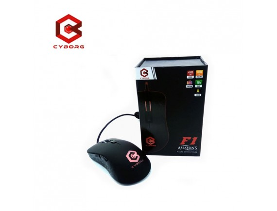 Cyborg F1 Assassins Macro 6D Gaming Mouse