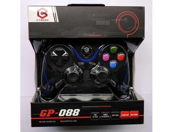 Cyborg Gamepad USB Single GP-088