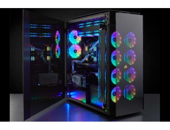 Corsair Obsidian 1000D Case Smoked Tempered Glass