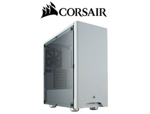 Corsair Carbide Series 275R Tempered Glass Black and White