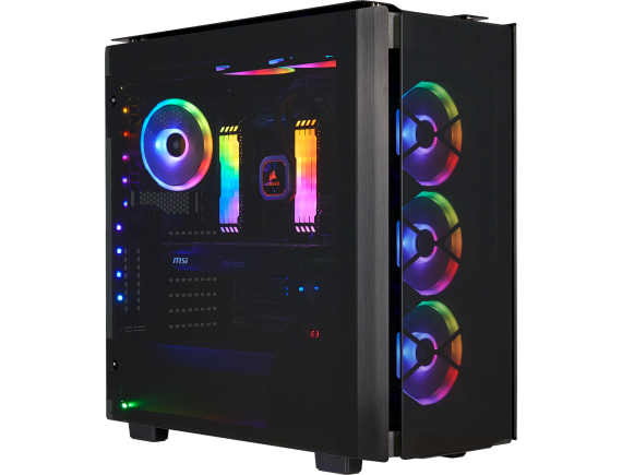 Corsair Casing Obsidian 500D RGB SE Premium Mid-Tower Case