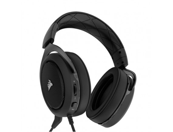 Corsair HS60 Carbon Gaming Headset Carbon/White