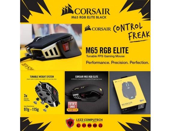 Corsair M65 ELITE RGB Gaming Mouse - CARBON - CH-9309011-AP