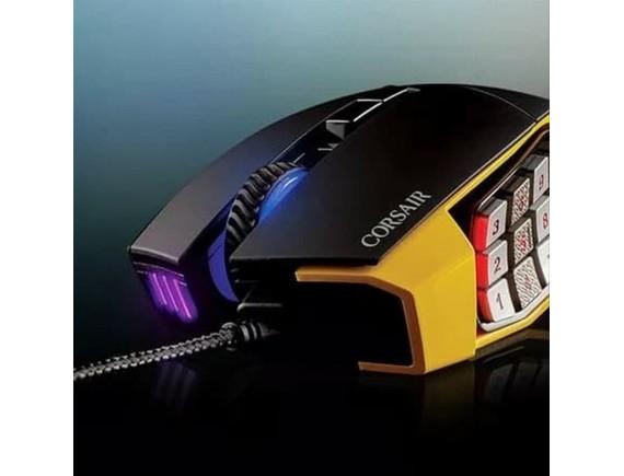 Corsair Scimitar Pro RGB Yellow - Gaming MOUSE