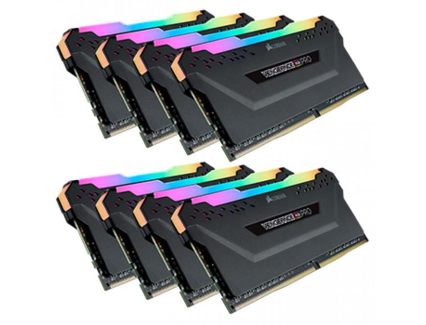 Corsair Vengeance RGB PRO 64GB (8 x 8GB) DDR4 Ryzen 2933MHz
