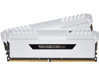 Corsair DDR4 Vengeance RGB 16GB 2x8GB 3200MHz C16 Desktop Memory - White