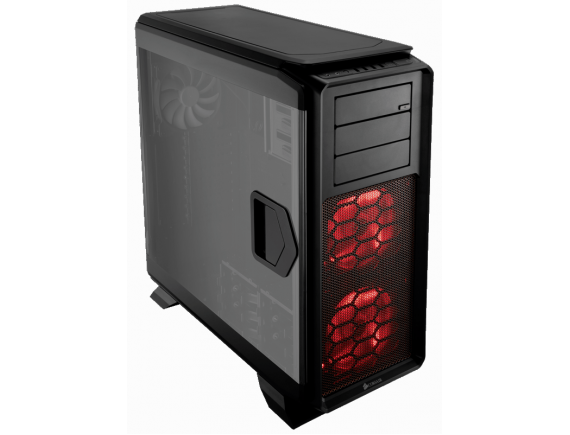 Corsair Graphite 760T Casing - Hitam
