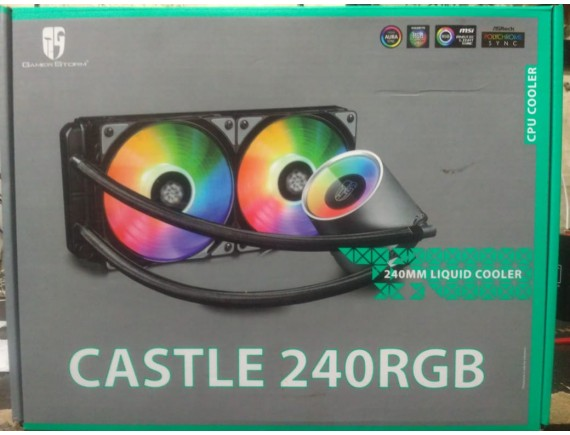DEEPCOOL CASTLE 240 RGB LIQUID COOLER
