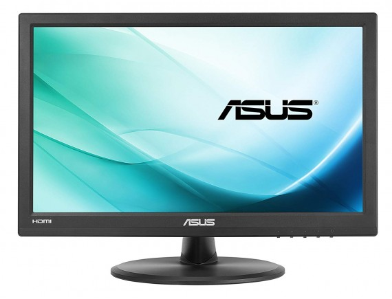 Asus LED Monitor VT168H 15.6Inch 1366x768 Touchscreen HDMI VGA