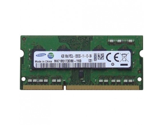 Samsung SODIMM DDR3 4GB Low Voltage