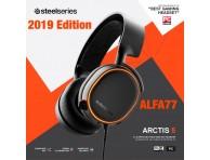 SteelSeries Arctis 5 - 7.1 Surround RGB Gaming Headset WHITE&BLACK