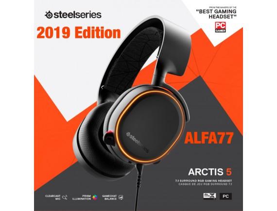 SteelSeries Arctis 5 - 7.1 Surround RGB Gaming Headset