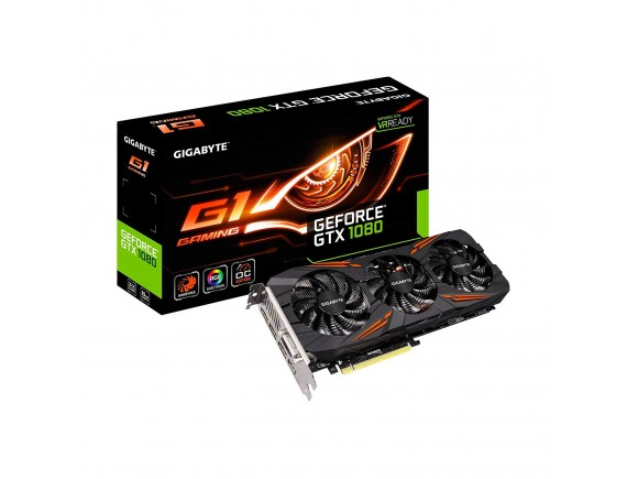 Gigabyte NVIDIA GeForce GV-N1080 G1 Gaming 8GD 256BIT