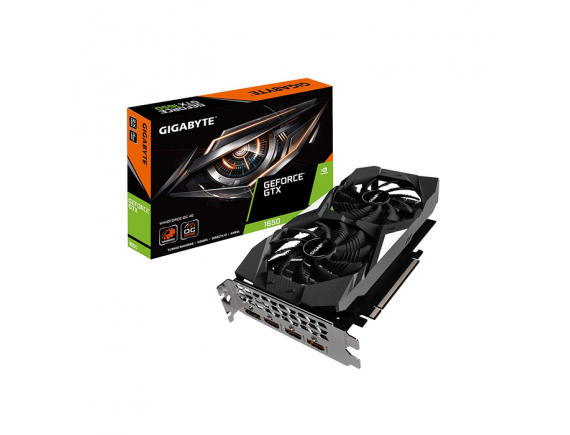 Gigabyte VGA GeForce GTX 1650 4GB DDR5 OC Series - GV-N1650OC-4GD