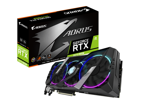 AORUS GeForce RTX 2070 SUPER 8G GV-N207S