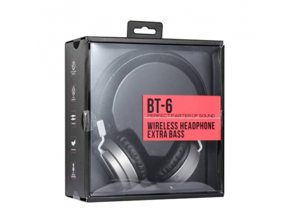 Wireless Headset Gaming Rexus BT6 Bluetooth Headphone BT-6 - REX-BT6 - Hitam